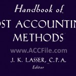 کتاب – Handbook of Cost Accounting Methods