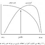 تأثير چرخه عمر شرکت بر ميزان مربوط بودن معيارهای ريسک و عملکرد