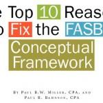 دلایل دهگانه برای اصلاح چارچوب نظری FASB