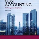 کتاب – Cost Accounting: A Managerial Emphasis (14th Edition) Horngren
