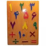 نحوه نوشتن اعداد فارسی