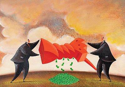 مجادله بانکداران و بازرگانان برسر السی