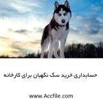 سگ خریداری شده برای کارخانه چگونه ثبت حسابداری میشود ؟